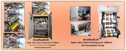 Innoflex 8120 1200 Mm Eight Colour Flexo Printing Machine