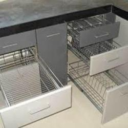 Steel Kitchen Drawers, Furniture Racks & Shelves | Anand ...