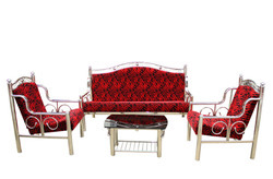 Stainless Steel Sofa Set, Sofa And Bed | Gautam Budh Nagar, Gautam Budh  Nagar | Friends Steel Fabricators | ID: 9825535691