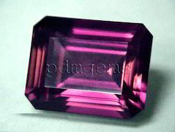 Pink Tourmaline Faceted Octagon Gemstone