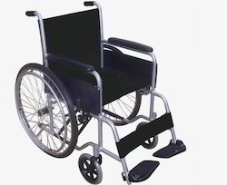 Black Invalid Wheel Chair