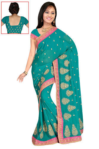 dff745decc Exporter of Indian Sarees & Dress Materials by Maa Gaytri Sarees, Mumbai