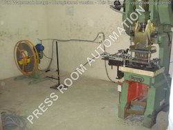 Pneumatic Feeder With Motorized Decoiler