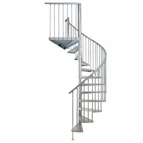 Iron Round Spiral Step