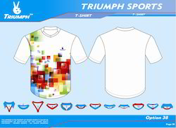 Printed Sports T Shirts