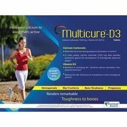 Calcium Carbonate 1250 Mg Vitamin-D3 250 I.U.