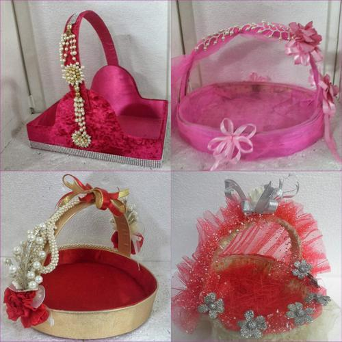 Wedding Gift For 500 Rs : Fibre Gift & Motif - Decorative Baskets For Gifting In wedding ...