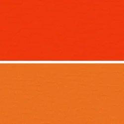 Orange Colored Artificial Leather Cloth
