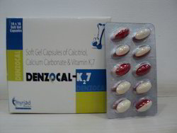 Calcitriol Calcium Carbonate Vitamin K2 Capsules