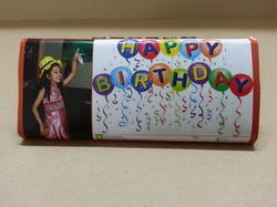 Customized Birthday Chocolate Bar
