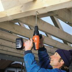 Drill For Roof Fitters
