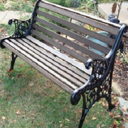 Admirable Cast Iron Garden Bench View Specifications Details Of Dailytribune Chair Design For Home Dailytribuneorg