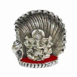 Metal Ganesha Sculpture