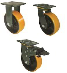 Polyurethane Caster Wheel With Double Ball Bearing