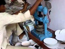 Paper Plate Manual Hand Press Machine