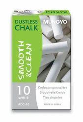 Dustless Chalk White (Set of 10)