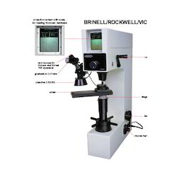 Brinell Rockwell Vickers Hardness Tester