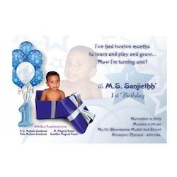 Invitation Card Designing Service