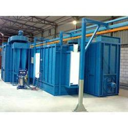 Automatic Powder Coating Booth