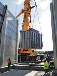 High Voltage Substation Erection Services