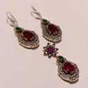 Fancy Design Turkish Earrings Set