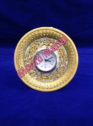 Handicraft Marble Table Clock