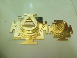 Brass Made Navdurga Meru Yantra