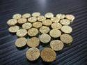 Golden Druzy Agate Round 10mm