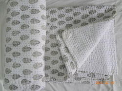 Printed Vandana Handicraft Hand Stitched Quilts