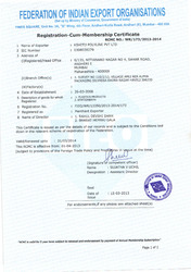 FIEO Membership Certificate