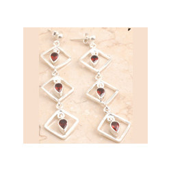 Garnet Adorable Earrings