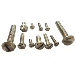 Slotted and Pan Head Machine Screw