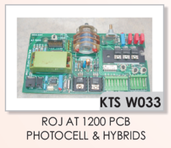 ROJ AT 1200 PCB Photocell
