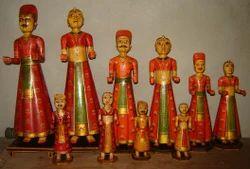 Bone Rajasthani Set
