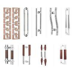Glass Door Pull Handles - Frameless Glass Doors