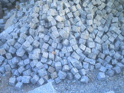 Kuppam Grey Cubes Cobbles