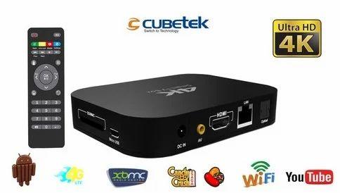 Cubetek 4k HD Media Smart TV Box - Asan Technologies, Coimbatore