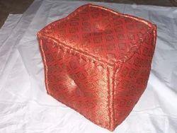 Jacquard Fabric Ottoman