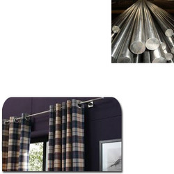 Stainless Steel Rods for Curtains, Length: 4 m