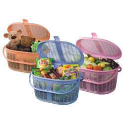 Plastic Baskets with Lock