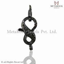 Diamond Pave Clasp Handmade Jewelry Findings