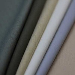 Polyester Viscose Fabrics, Plain / Solids, Multicolour