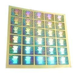 Multi colour  2D/3D  Hologram Sticker