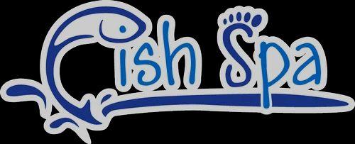 Fish spa logo vector logos for Fish pedicure utah