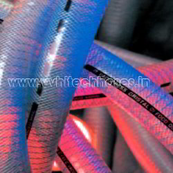 50 Meter Two Layer Soft PVC Embedded Steel Wire Textile Yarn Reinforced Hose
