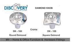 Diamond Drawer Knob