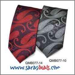 QMB077-14, QMB077-10- Mens Tie (Micro Fibre)