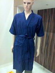 Blue Bath Robe