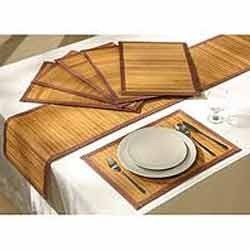 Bamboo Table Mat Baans Ki Table Mat Manufacturers Suppliers