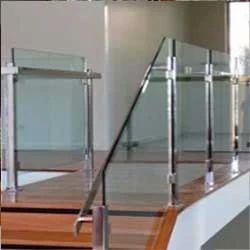 Glass Stair Handrails